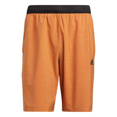 Adidas Mens Axis Heathered Shorts Red S, Red, rebel_hi-res