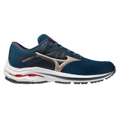 Mizuno Wave Inspire 17 Mens Running Shoes Navy US 8, Navy, rebel_hi-res