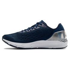 Under Armour HOVR Sonic 3 Mens Running Shoes Navy/Silver US 7, Navy/Silver, rebel_hi-res