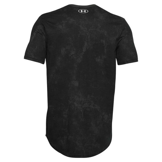 Under Armour Mens Project Rock Disrupt Tee, Black, rebel_hi-res