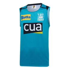 Brisbane Heat 2019/20 Mens Training Singlet Teal S, Teal, rebel_hi-res