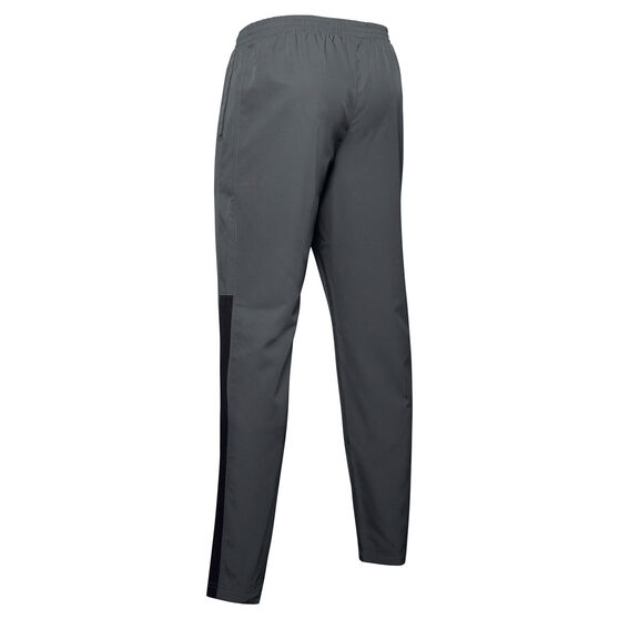Under Armour Mens Stretch Woven Vital Pants, Grey, rebel_hi-res