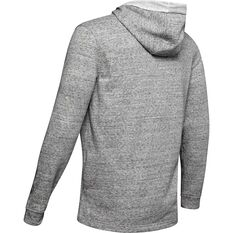 Under Armour Mens Sportstyle Terry Logo Hoodie White S, White, rebel_hi-res