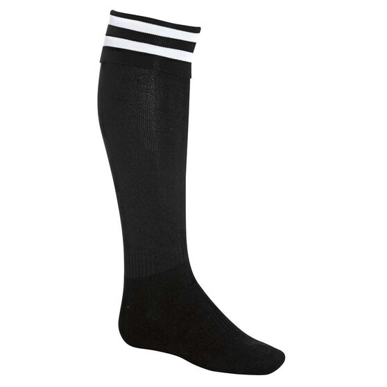 Burley Kids Football Socks, Black  /  white, rebel_hi-res