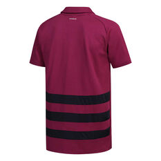 All Blacks 2020 Mens Prime Polo Maroon S, Maroon, rebel_hi-res