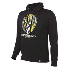 Richmond Tigers 2018 Mens Hoodie Black S, Black, rebel_hi-res