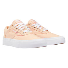 Reebok Club C Coast Womens Casual Shoes Orange/White US 6, Orange/White, rebel_hi-res