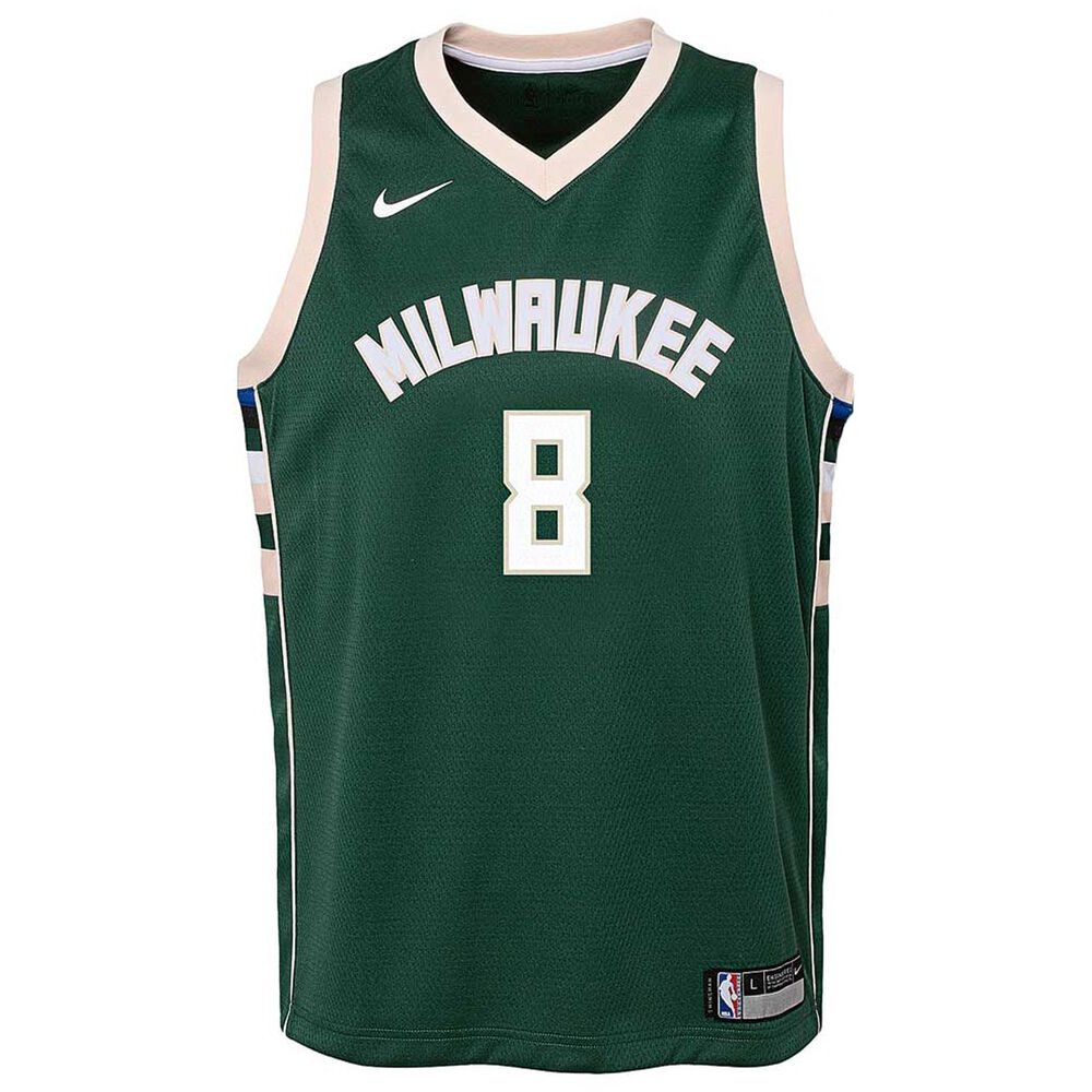 the latest cd4dc 7e4db Nike Milwaukee Bucks Matthew Dellavedova Icon Kids Swingman Jersey Green XL