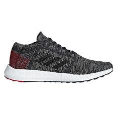 adidas Pureboost GO Mens Running Shoes Black / White US 7, Black / White, rebel_hi-res