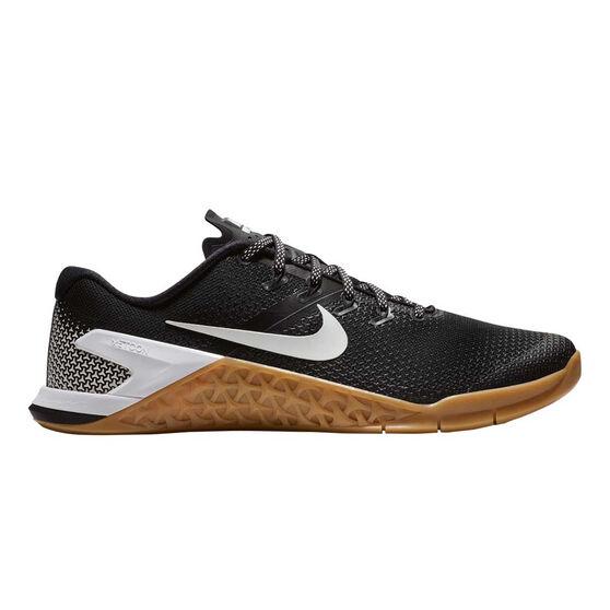 Nike Metcon 4 Mens Training Shoes, Black / White, rebel_hi-res
