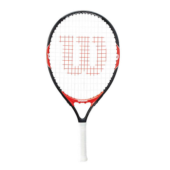 Wilson Federer 21in Junior Tennis Racquet Black / Red 21in, , rebel_hi-res