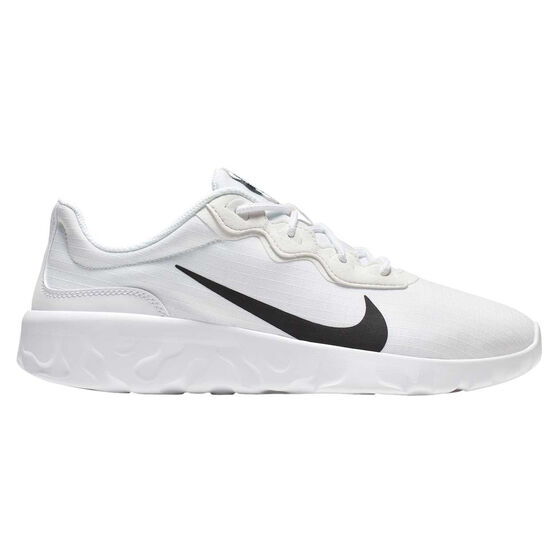Nike Explore Strada Womens Casual Shoes, White / Black, rebel_hi-res