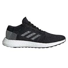 adidas Pureboost GO Mens Running Shoes Black / Grey US 7, Black / Grey, rebel_hi-res