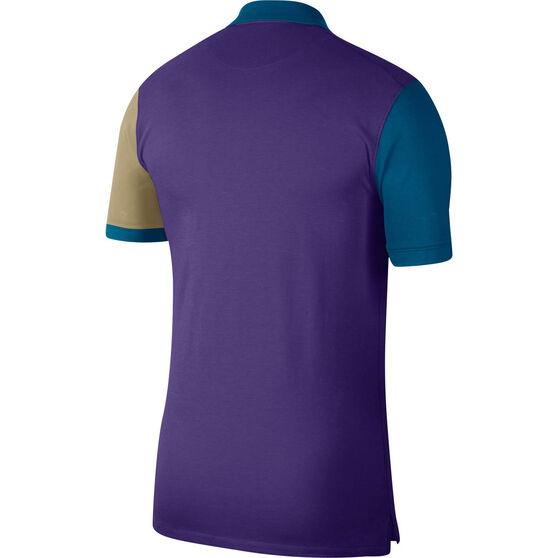 Nike Mens Heritage Polo, Purple, rebel_hi-res