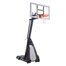 "Spalding 54"" Glass NBA Beast Basketball System, , rebel_hi-res"