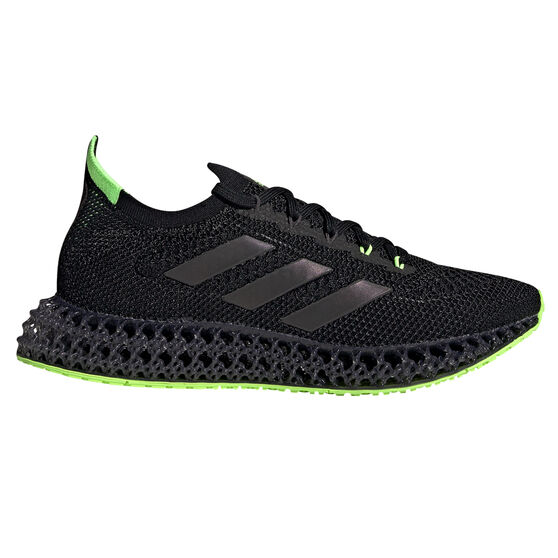 adidas 4DFWD Mens Running Shoes, Black, rebel_hi-res