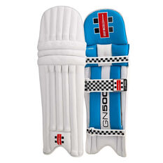Gray Nicolls GN 500 Junior Cricket Batting Pads Blue S Junior, Blue, rebel_hi-res