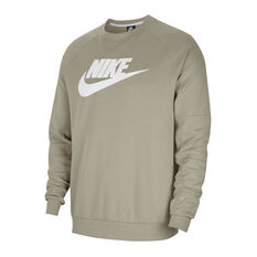 Nike Mens Sportswear Fleece Crew Grey XS, Grey, rebel_hi-res