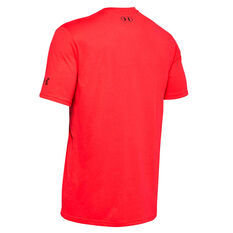Under Armour Mens Brahma Bull Tee Red XS, Red, rebel_hi-res