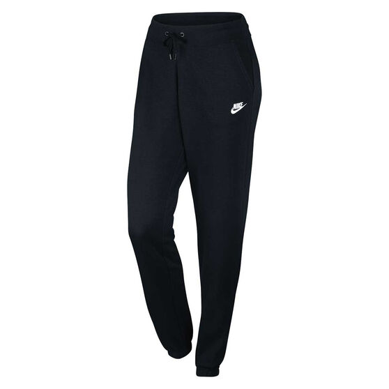 6bb7cc56bf Nike Womens Sportswear Fleece Pant Black   White XS Adult