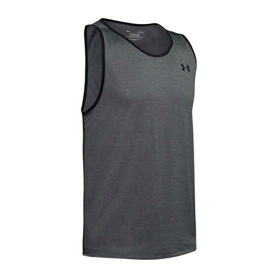 Under Armour Mens Tech 2.0 Tank, Grey, rebel_hi-res