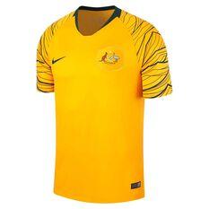 96ff5ba411e Socceroos 2018 Mens Home Football Jersey, , rebel_hi-res