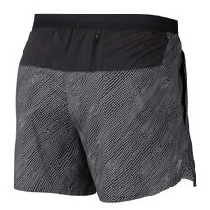 Nike Mens Flex Stride 5in Trail Running Shorts Black XS, Black, rebel_hi-res