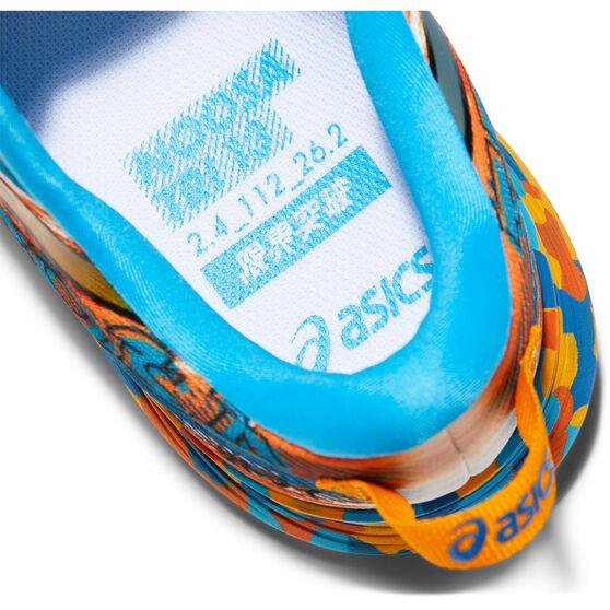 Asics GEL Noosa Tri 13 Mens Running Shoes, Blue/Orabge, rebel_hi-res
