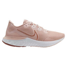 Nike Renew Run Womens Running Shoes Pink / Rose Gold US 6, Pink / Rose Gold, rebel_hi-res