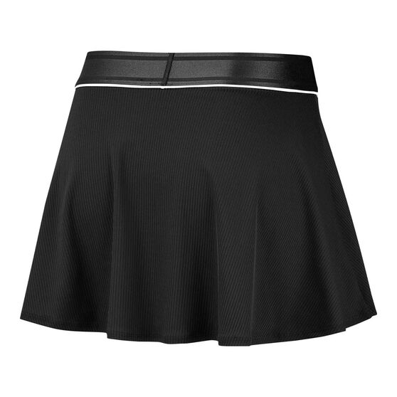 Nike Womens Court Dri-FIT Tennis Skirt, Black, rebel_hi-res