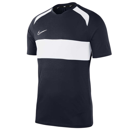 Nike Mens Dri FIT Academy Soccer Tee Black S, Black, rebel_hi-res