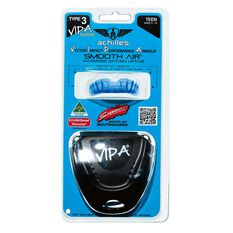 Achilles VIPA Custom Mouthguard Blue / Clear Teen, Blue / Clear, rebel_hi-res