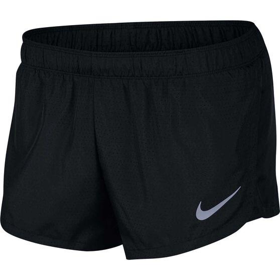 "Nike Mens 2"" Lined Running Shorts, Black, rebel_hi-res"