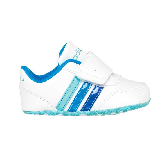 4ace3830a155 adidas NEO V Jog Infant Shoes White   Blue US 2