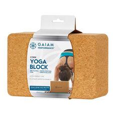 Gaiam Performance Cork Yoga Block, , rebel_hi-res