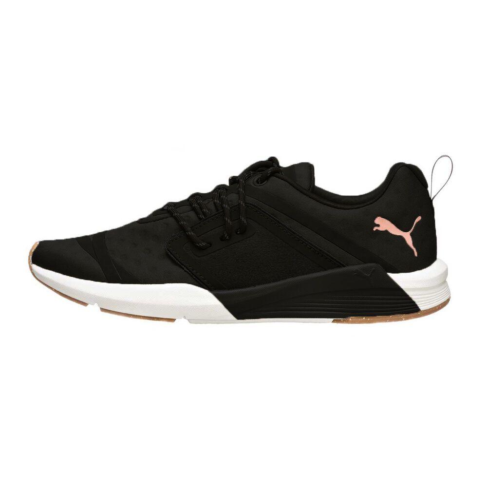 a4847cbd72e5 Puma Pulse Ignite XT Womens Casual Shoes Black   White US 6