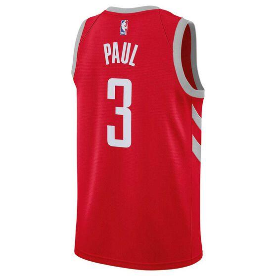 Nike Houston Rockets Chris Paul 2019 Mens Swingman Jersey University Red S, University Red, rebel_hi-res
