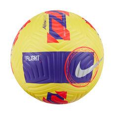 Nike Flight 2021/22 Soccer Ball Yellow 5, Yellow, rebel_hi-res