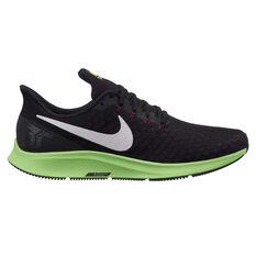 Nike Air Zoom Pegasus 35 Mens Running Shoes Black / White US 7, Black / White, rebel_hi-res