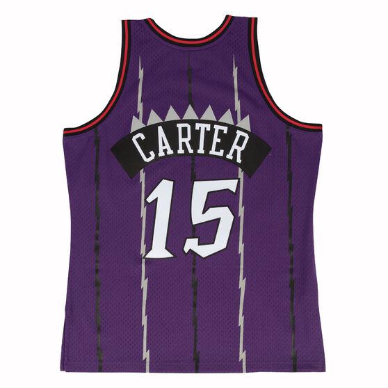 Toronto Raptors Vince Carter 98/99 Mens Swingman Jersey, Purple, rebel_hi-res
