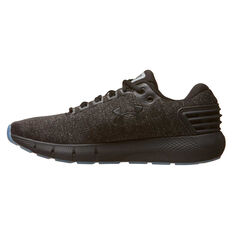 Under Armour Charged Rogue Twist Ice Mens Running Shoes Black / Grey US 7, Black / Grey, rebel_hi-res