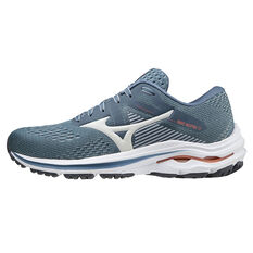 Mizuno Wave Inspire 17 Womens Running Shoes Blue/Orange US 6, Blue/Orange, rebel_hi-res