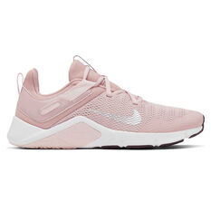 Nike Legend Essential Womens Training Shoes Pink / White US 6, Pink / White, rebel_hi-res