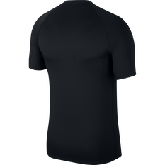 Nike Mens Pro Graphic Tee Black / White S, Black / White, rebel_hi-res