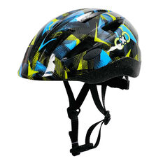 Goldcross Kids Mayhem Bike Helmet Black 44 - 50cm, Black, rebel_hi-res