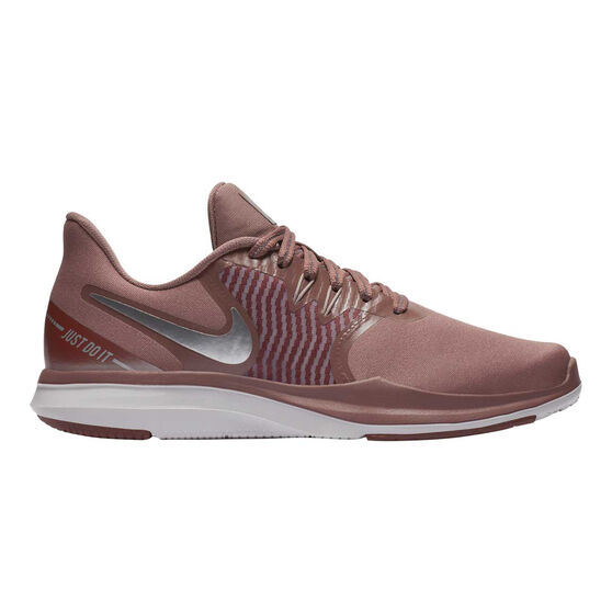 Nike In Season 8 Premium Womens Training Shoes, Purple / White, rebel_hi-res
