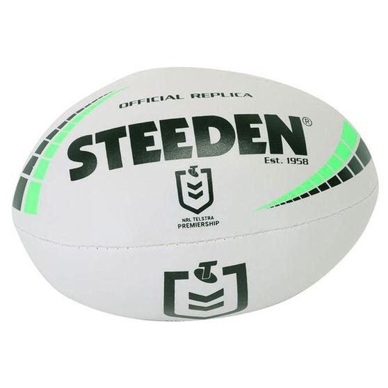 Steeden NRL Premiership Sponge Rugby Ball, , rebel_hi-res