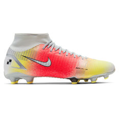 Nike Mercurial Dream Speed Superfly 8 Academy Football Boots White US Mens 4 / Womens 5.5, White, rebel_hi-res