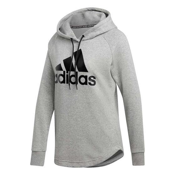 adidas Womens Must Haves Badge Of Sport Hoodie, , rebel_hi-res