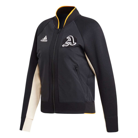adidas Womens VRCT Jacket, Black, rebel_hi-res